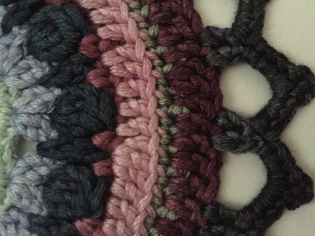 stephanie davies crochet mandala