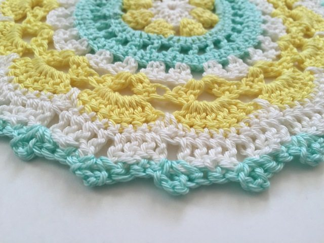 stephs crochet mandalasformarinke - blue