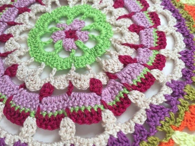 Susana Crochet Mandala For Wink