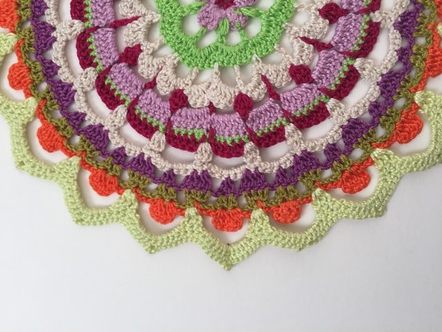Susana's Crochet Mandala for Marinke