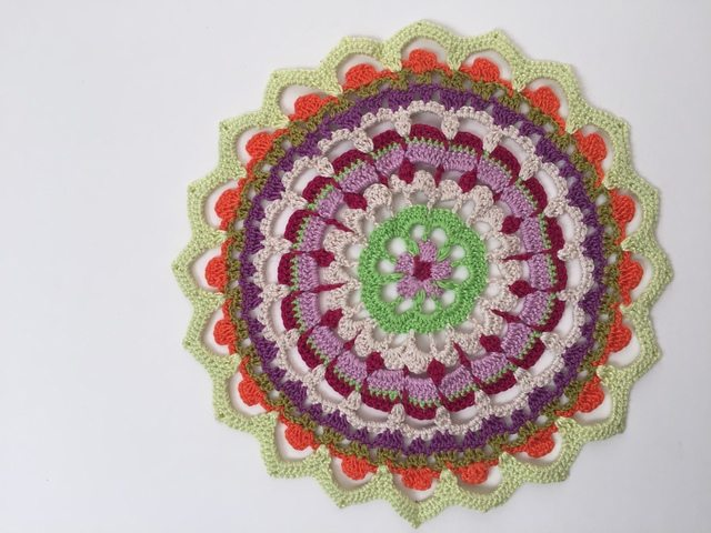 Susana's Crochet Mandala