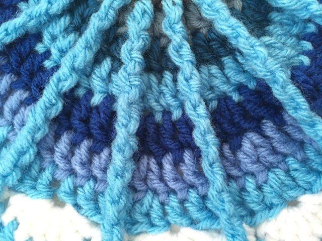 crochet mandala detail by angela