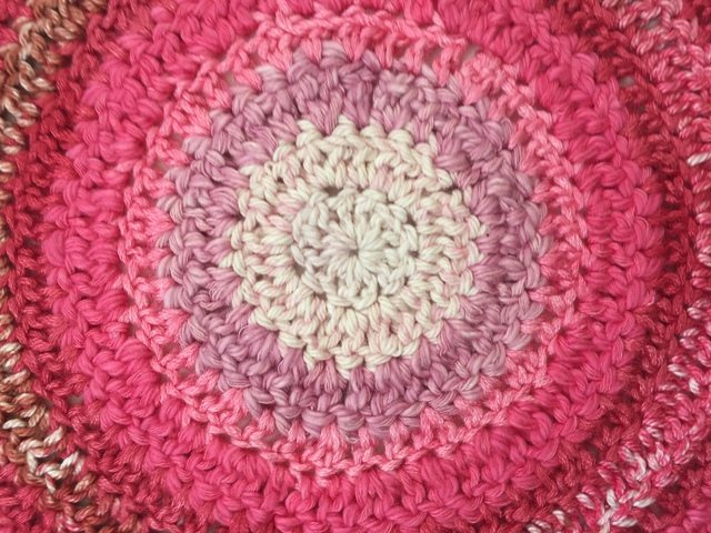 helene center of crochet mandala