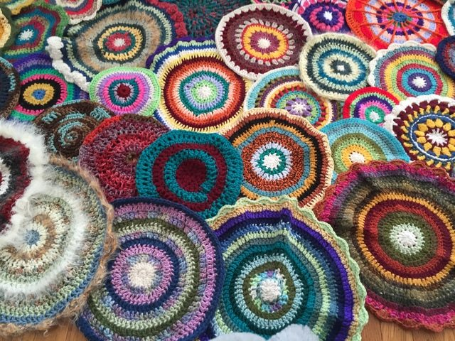 jenniesyarnshop crochet mandalas for marinke