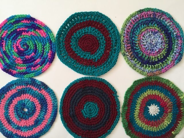 jenniesyarnshop crochet mandalas for wink