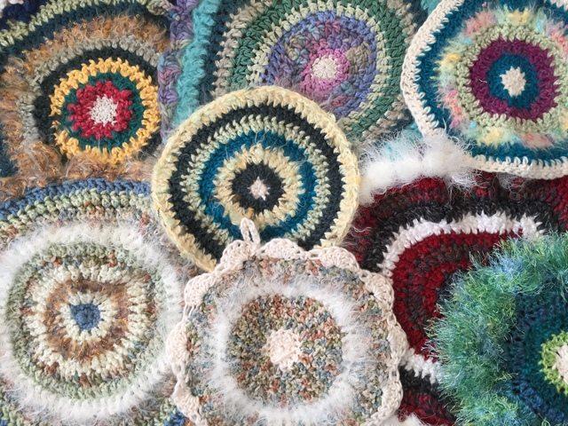 jenniesyarnshop crochet mandalas
