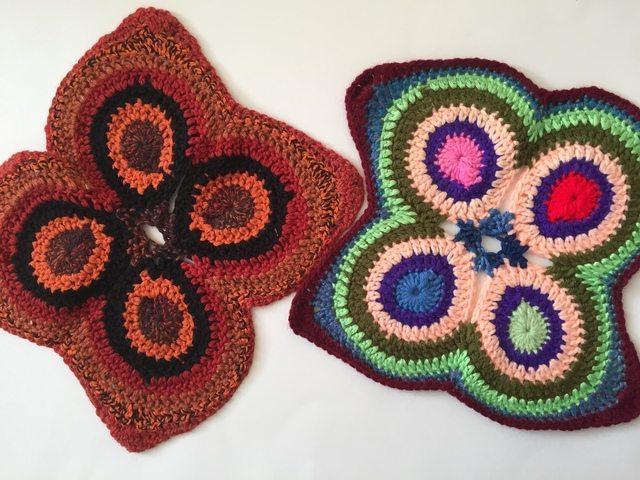 jenniesyarnshop crochet mandalasformarinke butterflies