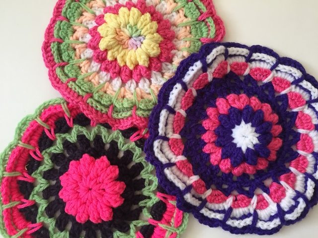 Crocheting Yarn Shop : 50 Beautiful Crochet Mandalas for Marinke by Jennie?s Yarn Shop !