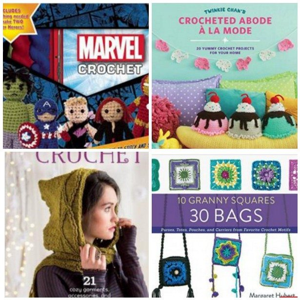 2016 crochet books