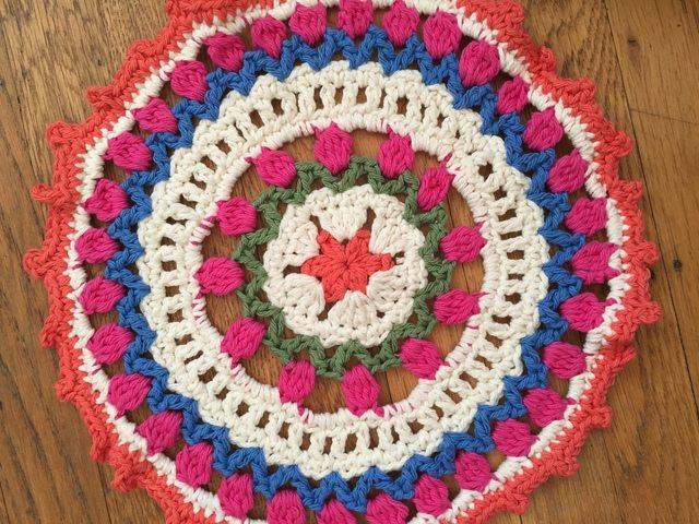 Anonymous Serendipitous Crochet Mandala
