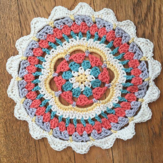 Charlisa Designs Crochet Mandala