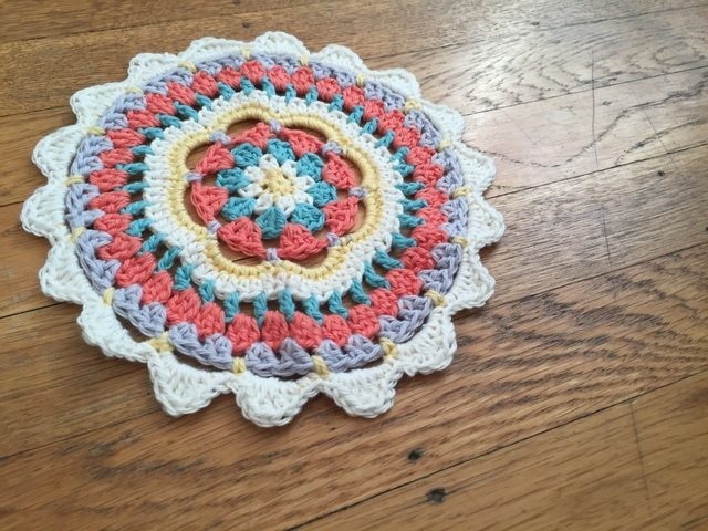 CharlisaDesigns Crochet Mandala for Wink
