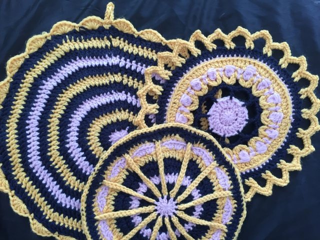 CrochetKitten's Crochet Mandalas for Marinke