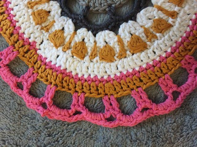 Felicia's Crochet Mandala for Wink