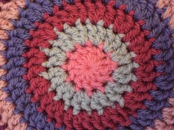 Gwynneth crochet mandala center