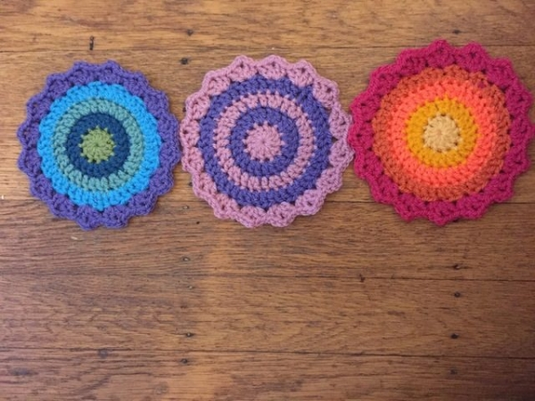 Gwynneth crochet mandalas