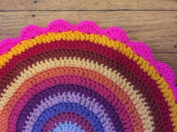 Gwynneth crochet mandalas for wink