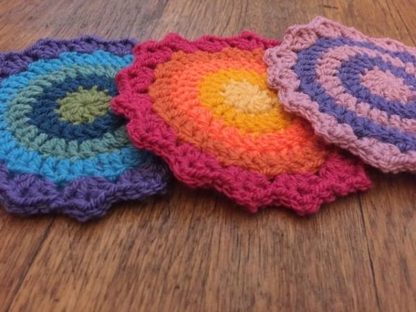 Gwynneth crochet mini mandalas for marinke