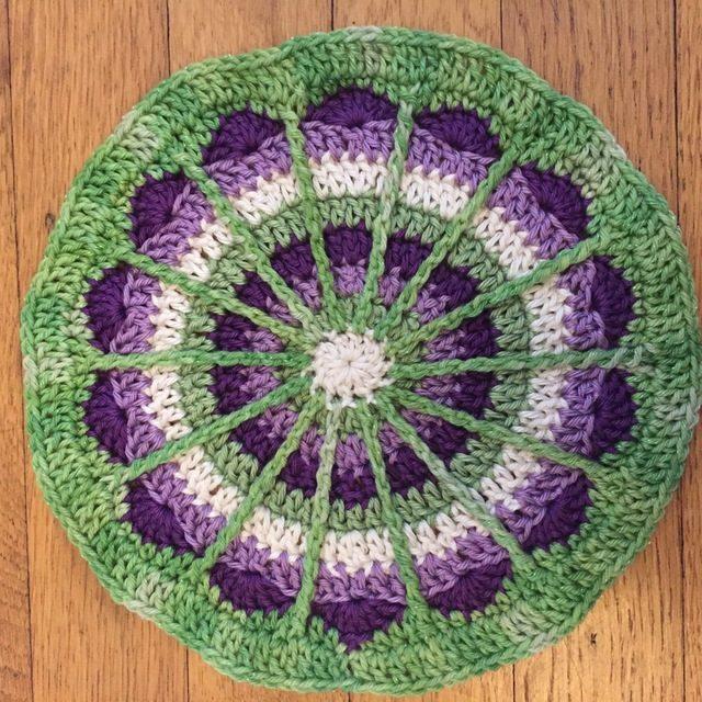 Hannah M's Crochet Mandala