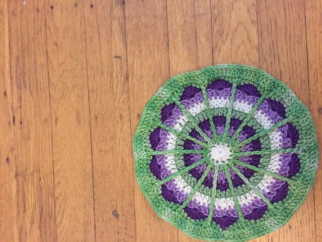 Hannah's Crochet Mandala for Wink