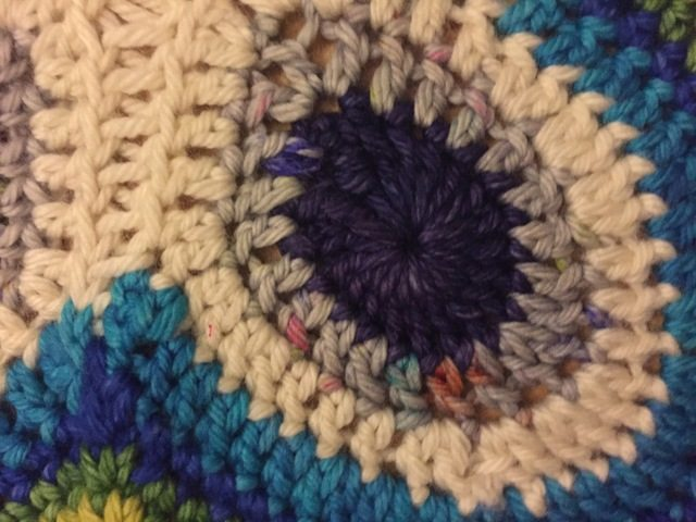 Janice's Butterfly Peacock Crochet Mandala for Wink