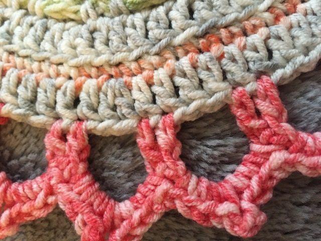 Jen's Crochet Mandala edging