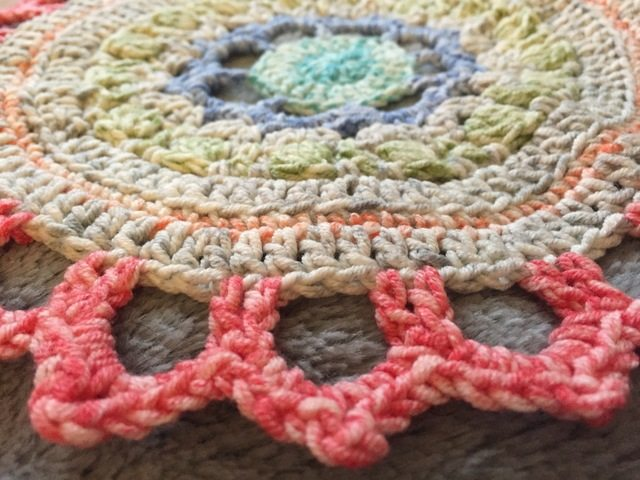 Jen's Crochet Mandala for Marinke