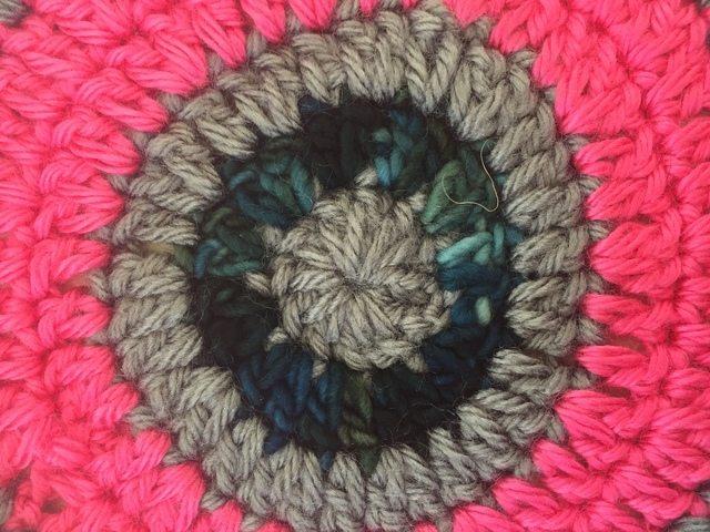 Lauren's Crochet Mandala Detail