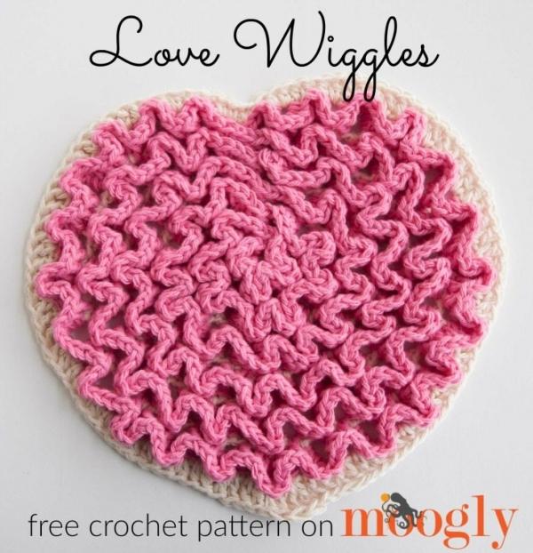 Love Wiggles crochet trivet free pattern