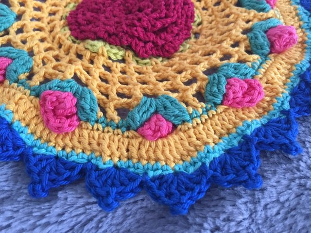 Wendy's Crochet Mandala for Wink
