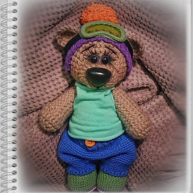 abramva crochet amigurumi teddy bear