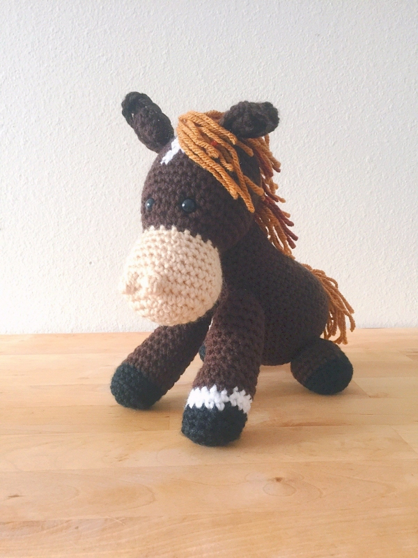 Free Crochet Pattern For Horse : This Weeks Link Love Celebrates the Crochet Community