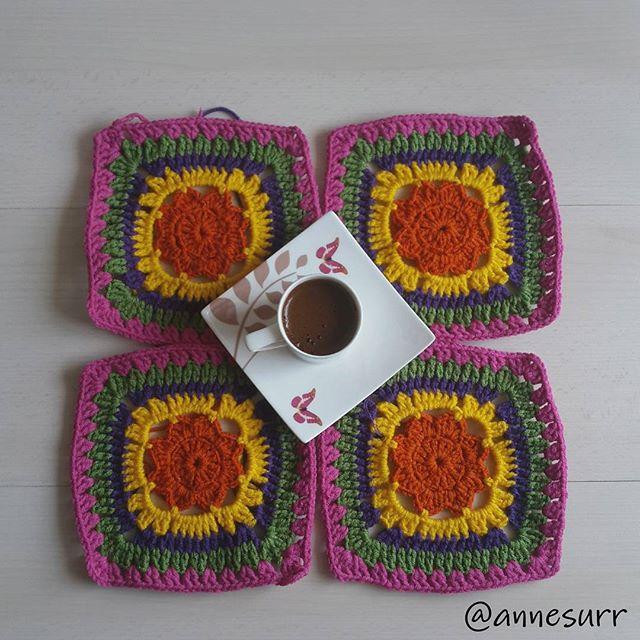 annesurr crochet granny squares