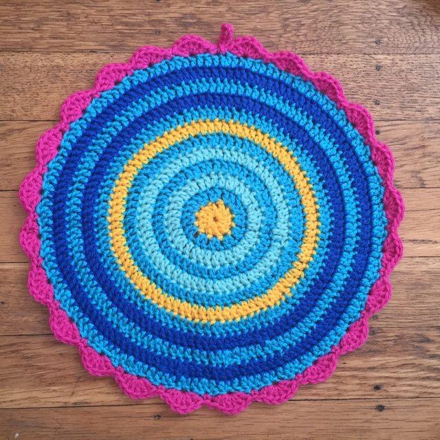 anonymous crochet mandala contribution