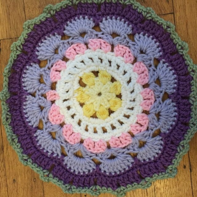 ash crochet mandala