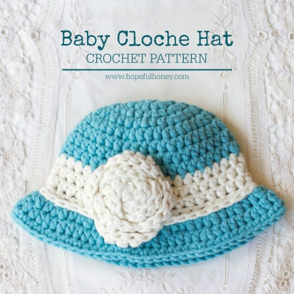 Free Knitting Pattern Baby Cloche Hat : 20+ Amazing New Crochet Patterns and Other Crafty Finds