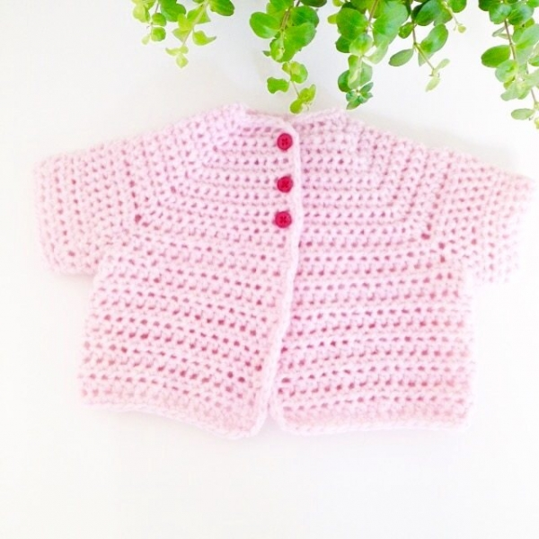 baby vest free crochet pattern