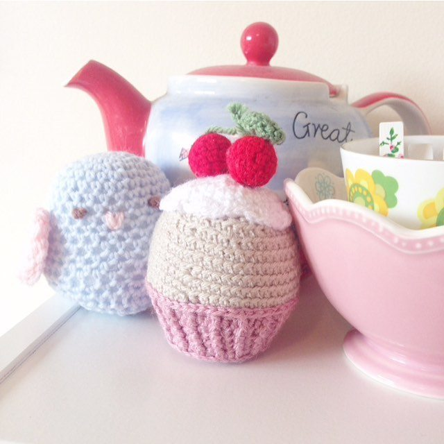 bathcrochetretreat crochet cupcake