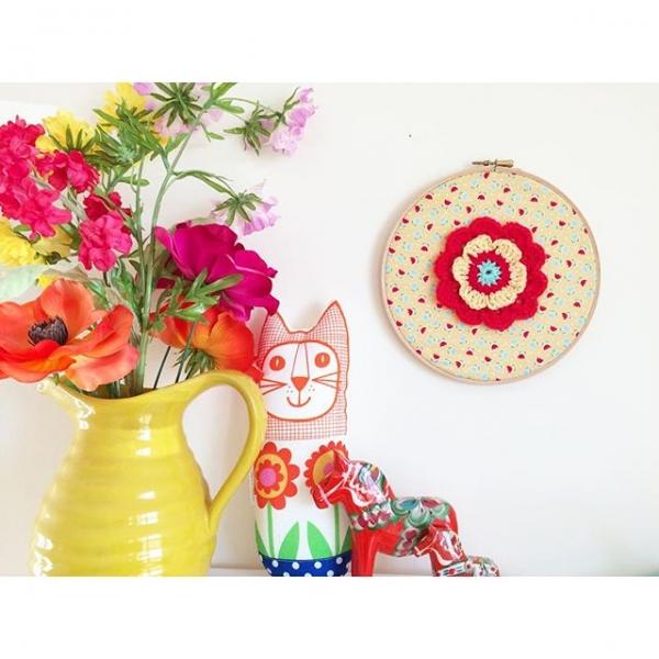 bathcrochetretreat crochet wall art