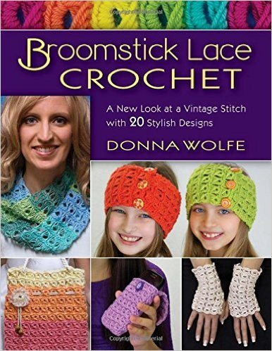 broomstick lace crochet book
