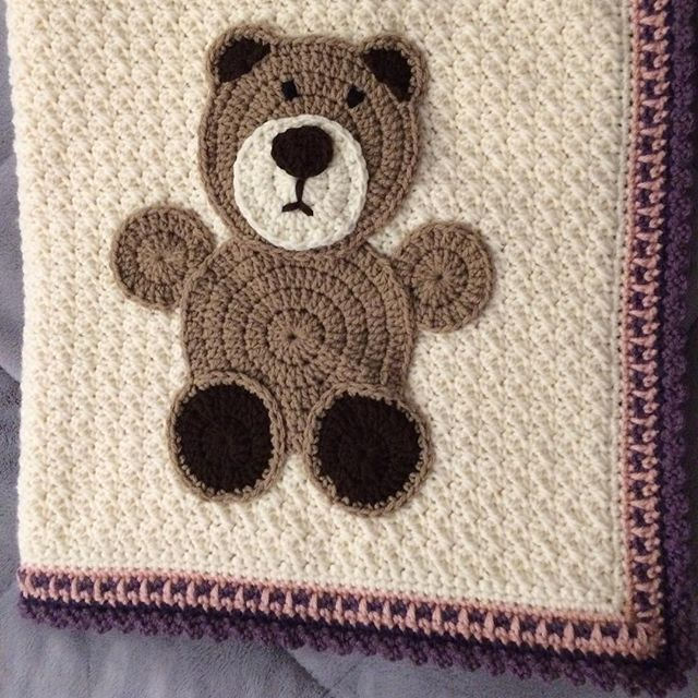 Free Crochet Patterns Teddy Bear Blanket : Trending Crochet: Squares, Amigurumi and More from Instagram