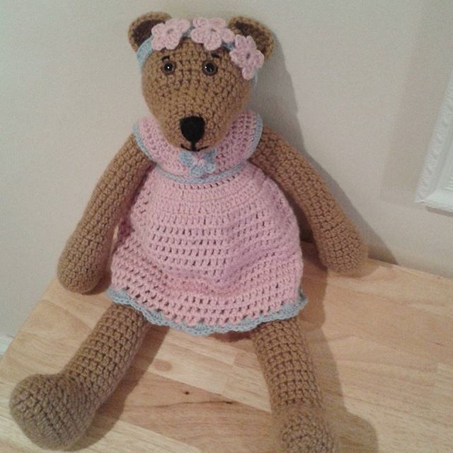 coast_torbay crochet teddy bear
