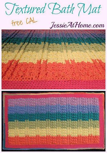 crochet bathmat free pattern
