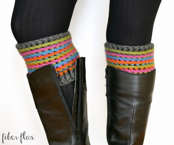 crochet boot cuffs free pattern