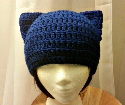 crochet cat hat beanie free pattern