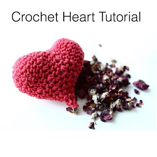 crochet heart video tutorial