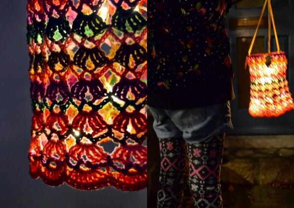 Haak lamp patroon