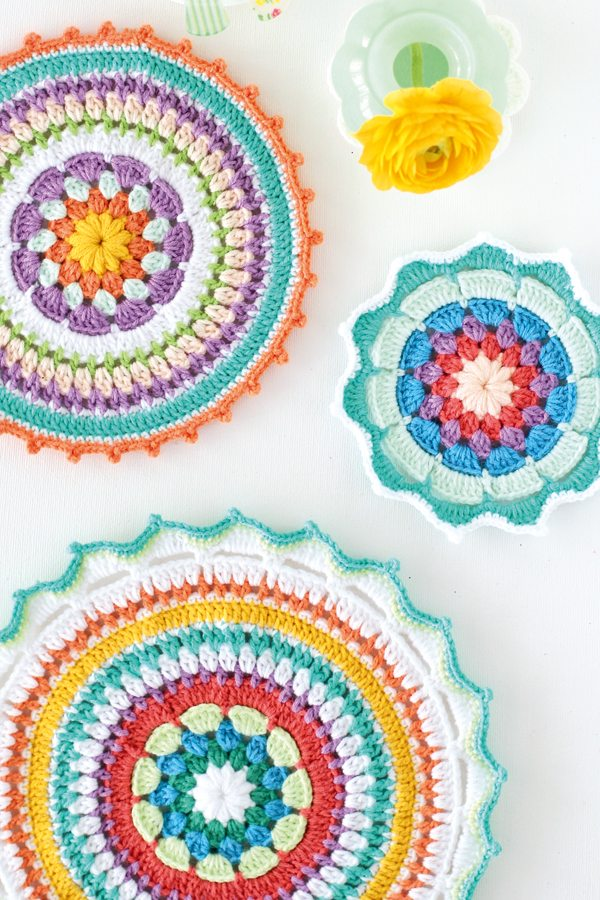 haak mandala free patterns