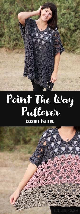 crochet pullover pattern