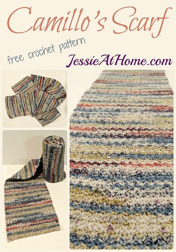crochet scarf pattern by jessie